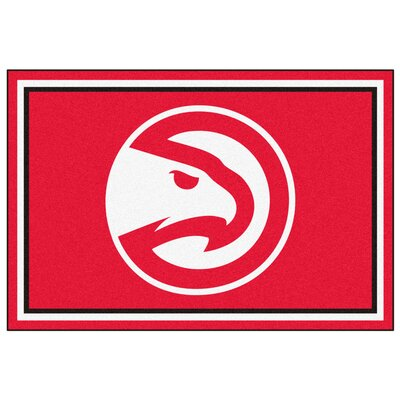 NBA - Atlanta Hawks 5x8 Doormat