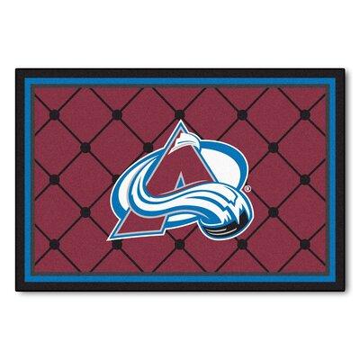 NHL - NCAAorado Avalanche Doormat Rug Size: 5 x 78