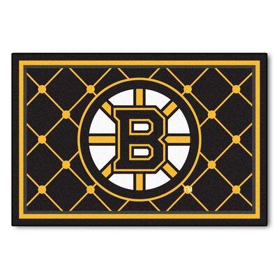 NHL - Boston Bruins 5x8 Rug Mat Size: 5 x 78