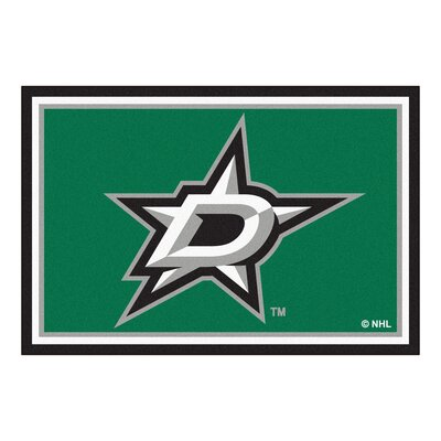 NHL - Dallas Stars 5x8 Doormat Mat Size: 5' x 7'8