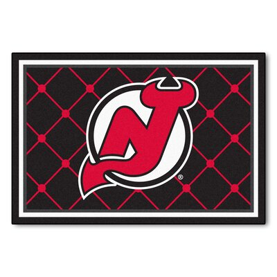 NHL - New Jersey Devils 5x8 Rug Rug Size: 5 x 78