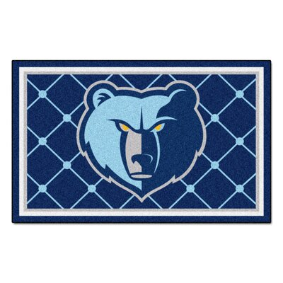 NBA - Memphis Grizzlies 5x8 Doormat