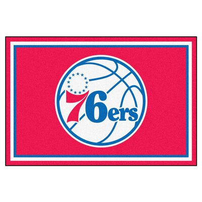 NBA - Philadelphia 76ers 5x8 Doormat