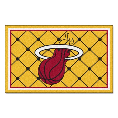 NBA - Miami Heat 5x8 Doormat