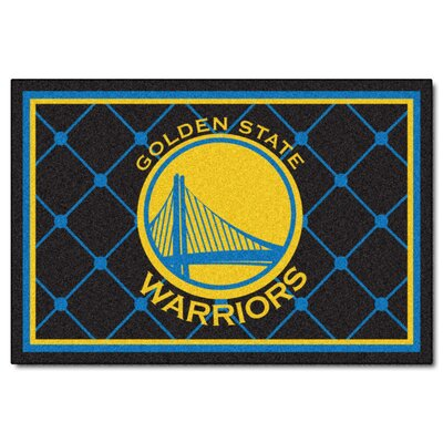NBA - Golden State Warriors 5x8 Doormat