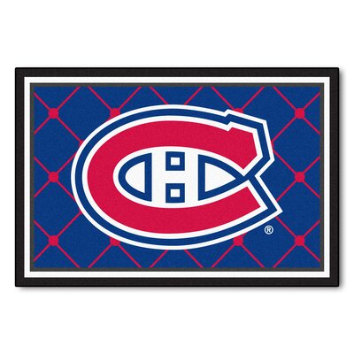 NHL Doormat Mat Size: 5 x 78, NHL: Montreal Canadiens