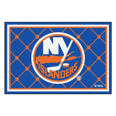 NHL - New York Islanders 5x8 Doormat Mat Size: 5 x 78