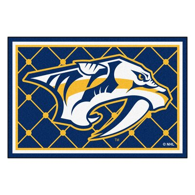 NHL - Nashville Predators Doormat Mat Size: 5 x 78