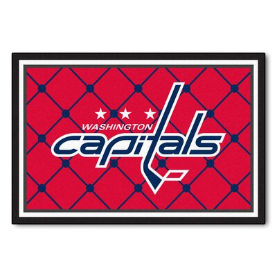 NHL - Washington Capitals 5x8 Doormat Rug Size: 5 x 78