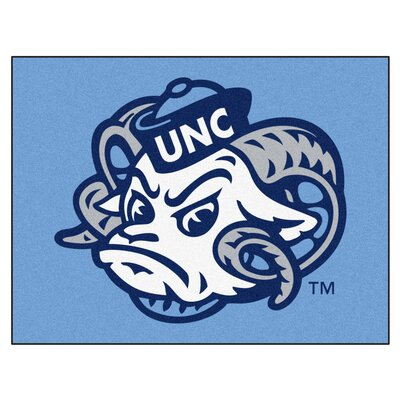 NCAA University of North Carolina Chapel Hill All Star Doormat