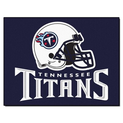 NFL - Tennessee Titans Doormat Rug Size: 210 x 38.5