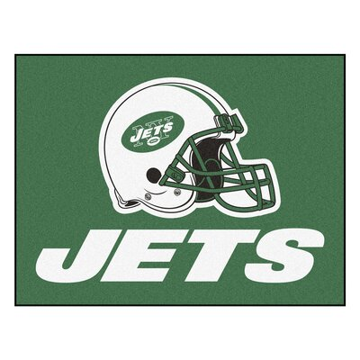 NFL - New York Jets Ulti-Mat Rug Size: 18 x 26