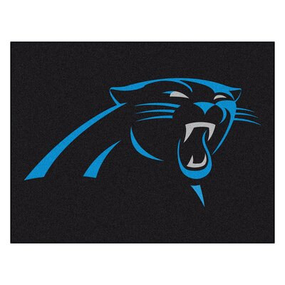 NFL - Carolina Panthers Doormat Mat Size: 210 x 38.5