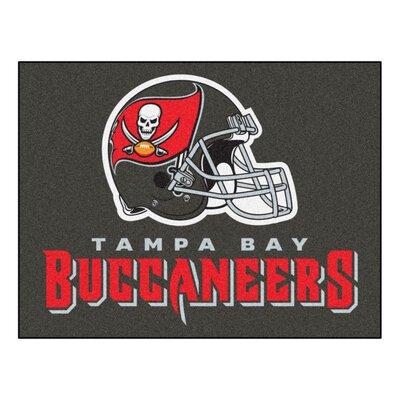 NFL - Tampa Bay Buccaneers Doormat Mat Size: 210 x 38.5