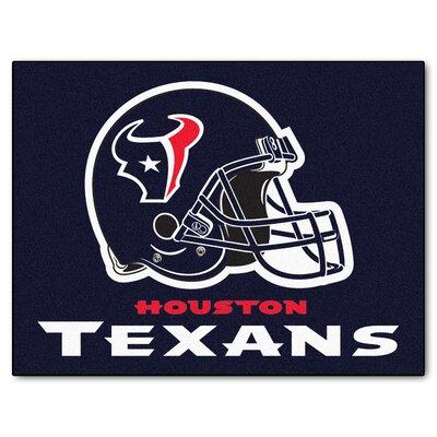 NFL - Houston Texans Doormat Mat Size: 210 x 38.5