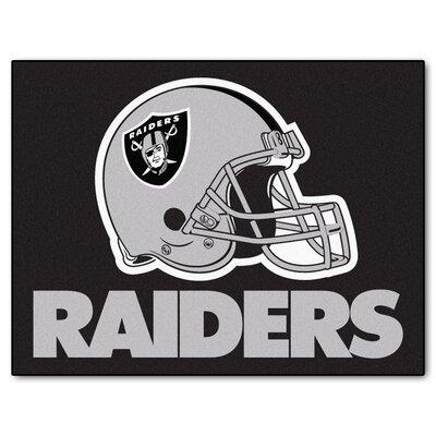 NFL - Oakland Raiders Doormat Rug Size: 210 x 38.5
