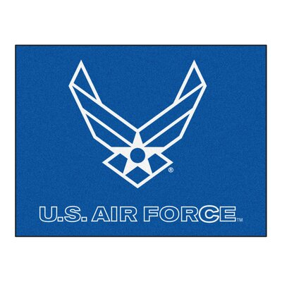 MIL U.S. Air Force Doormat Rug Size: 210 x 38.5
