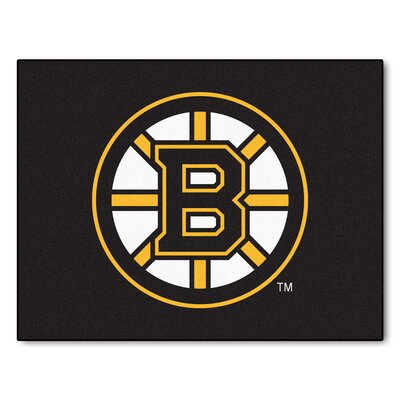 NHL - Boston Bruins Doormat Rug Size: 210 x 38.5
