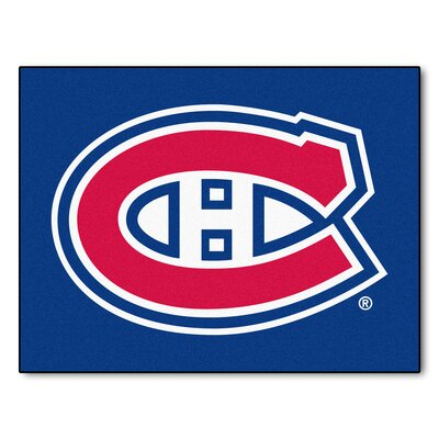 NHL - Montreal Canadiens Doormat Rug Size: 210 x 37