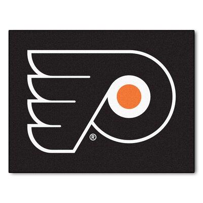 NHL - Philadelphia Flyers Doormat Rug Size: 210 x 38.5