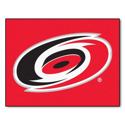 NHL - Carolina Hurricanes Doormat Mat Size: 210 x 38.5