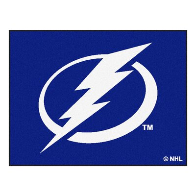 NHL - Tampa Bay Lightning Doormat Mat Size: 2'10