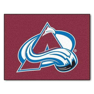 NHL - NCAAorado Avalanche Doormat Rug Size: 210 x 38.5