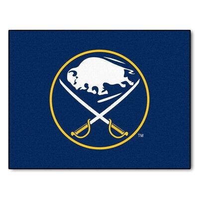 NHL - Buffalo Sabres Doormat Rug Size: 210 x 38.5
