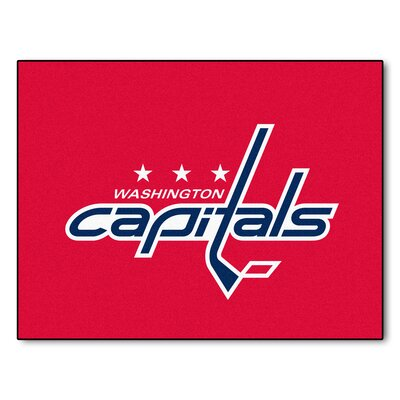 NHL - Washington Capitals Doormat Rug Size: 210 x 38.5