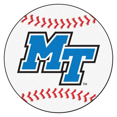 NCAA Middle Tennessee State University Baseball Mat