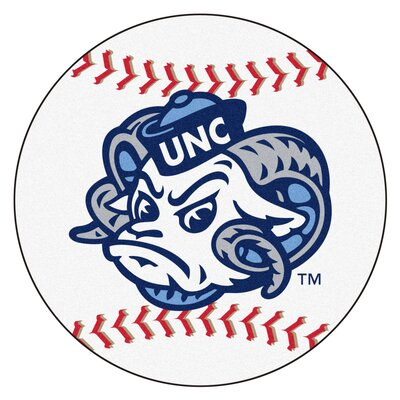 NCAA University of North Carolina - Chapel Hill Baseball Mat