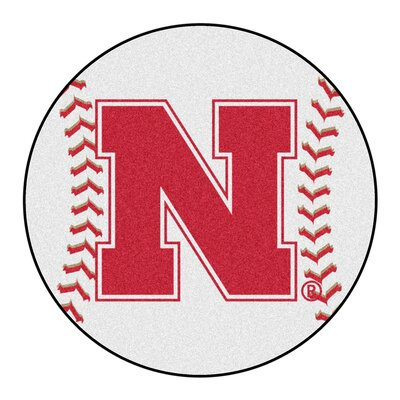 NCAA University of Nebraska Baseball Mat