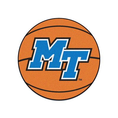 NCAA Middle Tennessee State University Basketball Mat