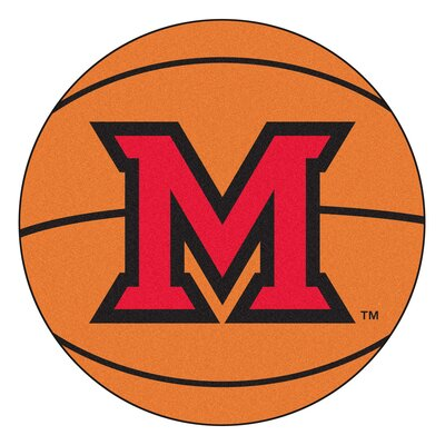 NCAA Miami University (OH) Basketball Mat