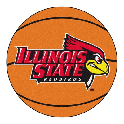 NCAA Illinois State University Basketball Mat
