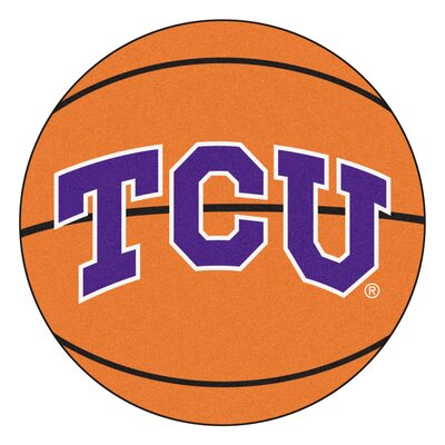 NCAA Texas Christian University Basketball Mat
