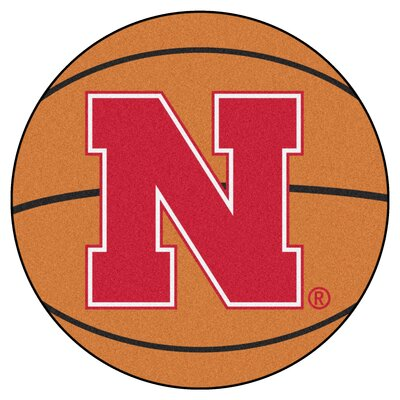 NCAA University of Nebraska Basketball Mat