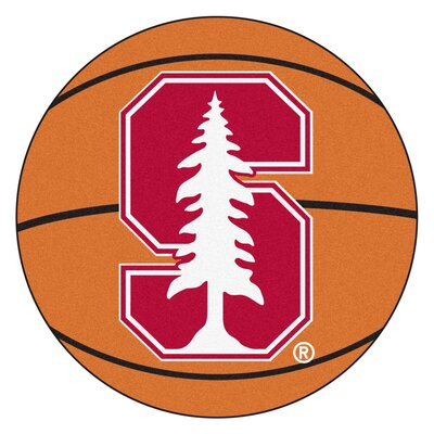 NCAA Stanford University Basketball Mat
