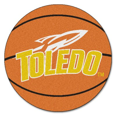 NCAA University of Toledo Basketball Mat