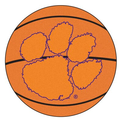 NCAA Clemson University Basketball Mat