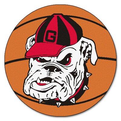 NCAA University of Georgia Basketball Mat