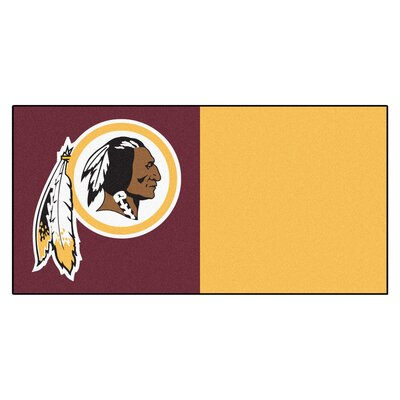 NFL Team 18 x 18 Carpet Tile NFL Team: Washington Redskins