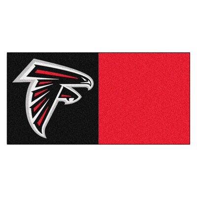 NFL Team 18 x 18 Carpet Tile NFL Team: Atlanta Falcons