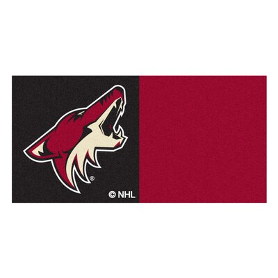 NHL - Chicago Blackhawks Team Carpet Tiles NHL Team: Phoenix Coyotes