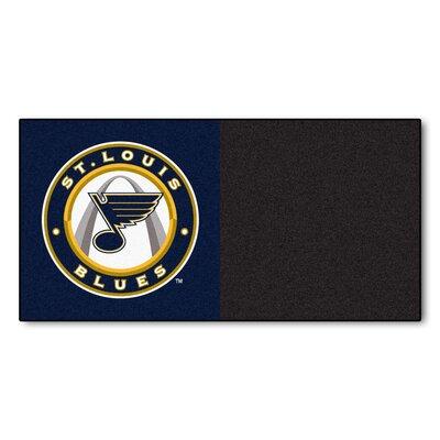 NHL - Chicago Blackhawks Team Carpet Tiles NHL Team: st. Louis Blues