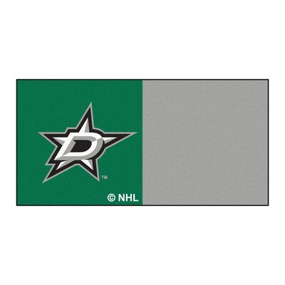 NHL - Chicago Blackhawks Team Carpet Tiles NHL Team: Dallas Stars