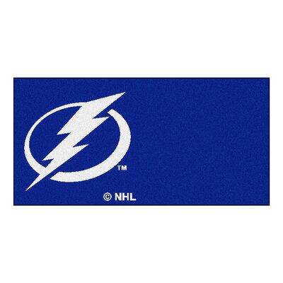 NHL - Chicago Blackhawks Team Carpet Tiles NHL Team: Tampa Bay Lightning