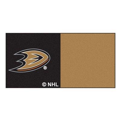 NHL - Chicago Blackhawks Team Carpet Tiles NHL Team: Anaheim Ducks