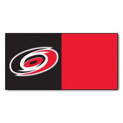 NHL - Chicago Blackhawks Team Carpet Tiles NHL Team: Carolina Hurricanes