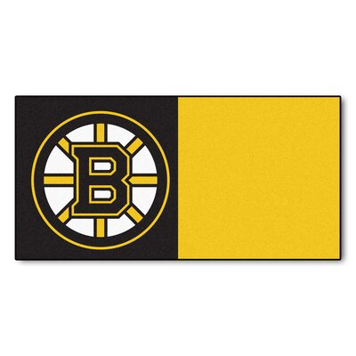 NHL - Chicago Blackhawks Team Carpet Tiles NHL Team: Boston Bruins